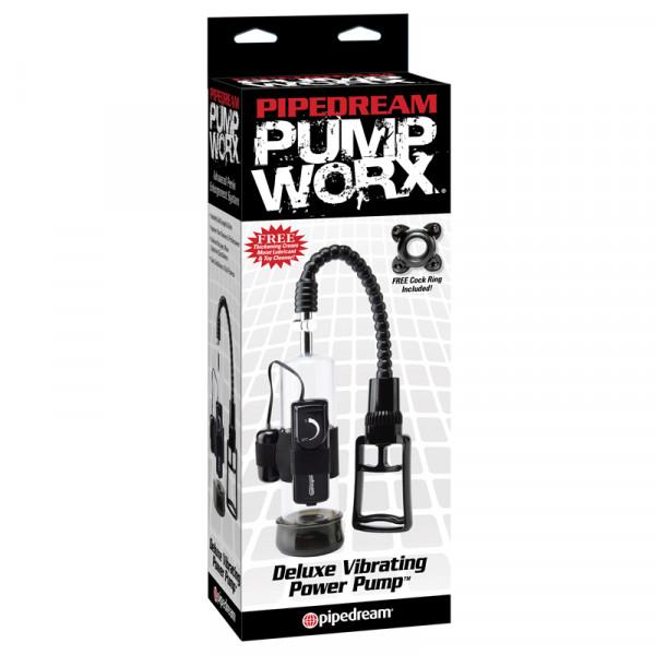 PUMP WORX - Deluxe Vibrating Power Pump