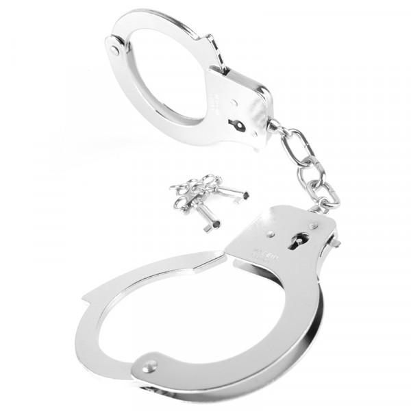 Fetish Fantasy Designer Cuffs-Silver