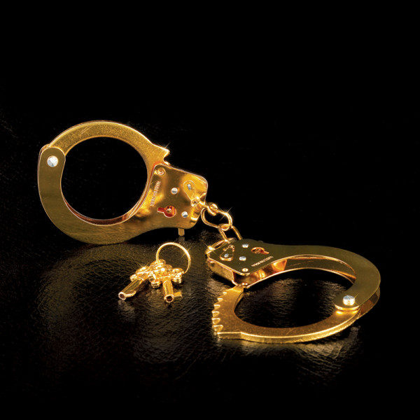 Fetish Fantasy Gold - Metal Cuffs - Gold