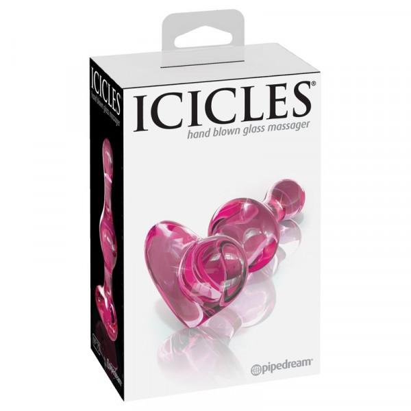 Pipedream Icicles No. 75 Glass Plug