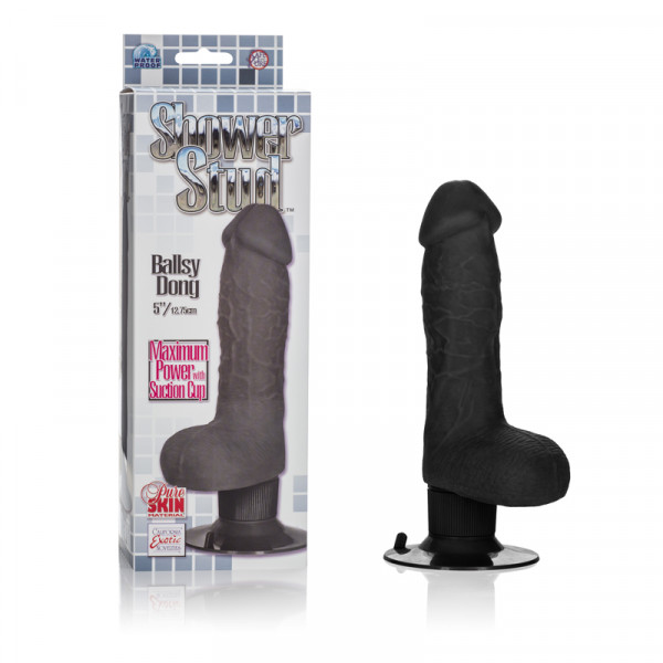 Shower Stud Ballsy Dong - Black