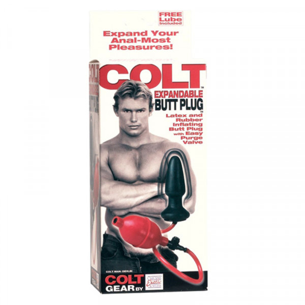Colt Gear Expandable Butt Plug