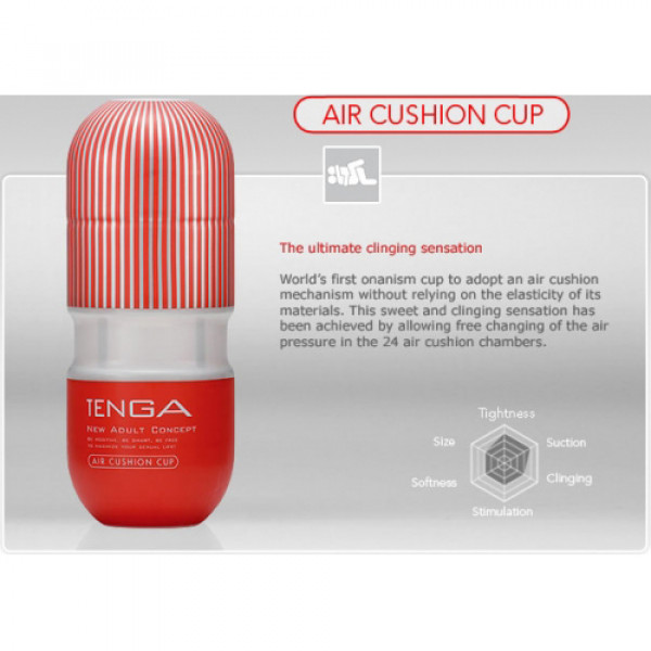 TENGA Air Cushion Cup -2