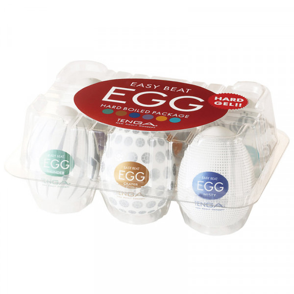 Tenga Egg - Hard Boiled Variety - 6 Pack