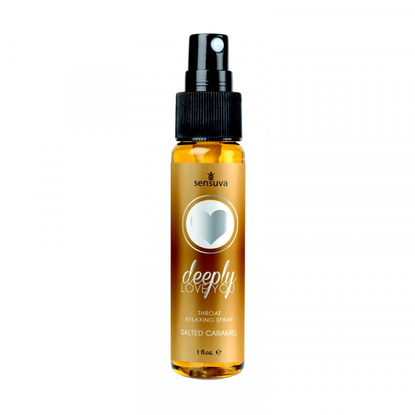 Sensuva Deeply Love Your Throat Oral Sex Aid - Salted Caramel