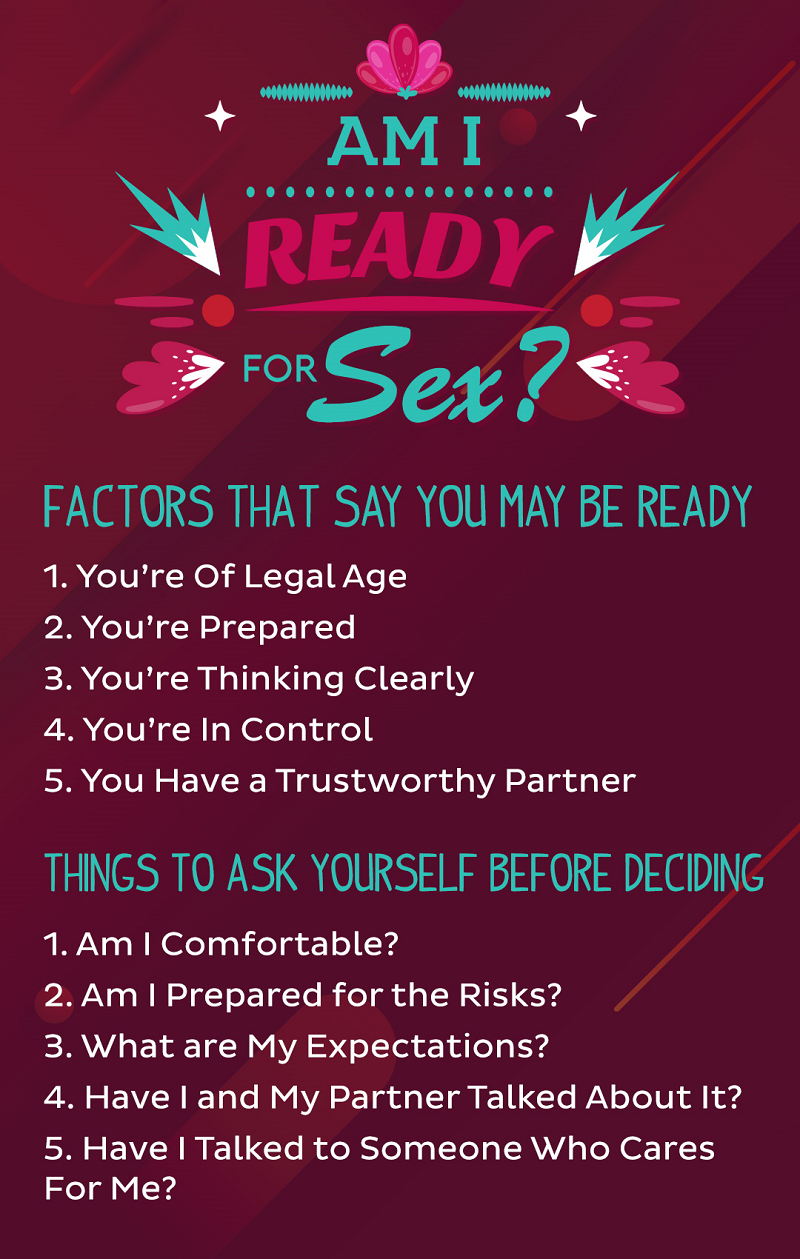 Am I Ready for Sex Infographic - Randy Fox