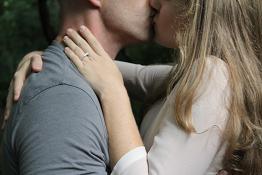 Couple Kissing - Randy Fox