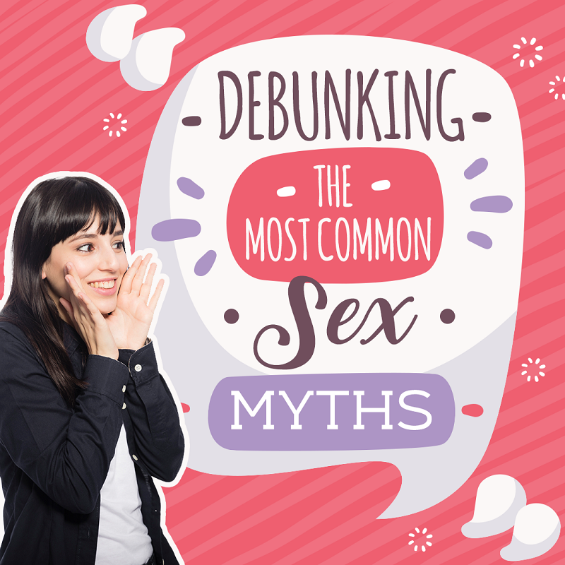 Debunking the Most Common Sex Myths Graphic - Randy Fox