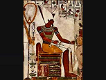 Egyptian god Atum - Randy Fox