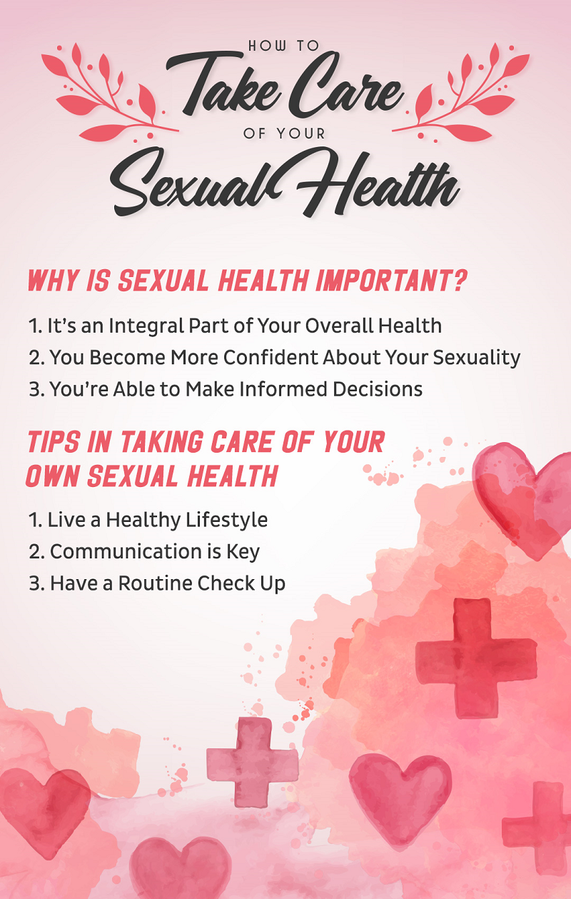 How to Take Care of Your Sexual Health Infographic - Randy Fox