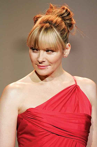 Kim Cattrall as Samantha Jones in Sex and the City - Randy Fox