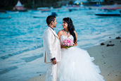 Newlyweds On the Beach - Randy Fox