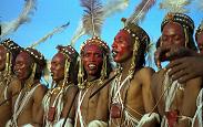 Wodaabe Tribe during Gerewol Festival - Randy Fox