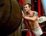 Shirtless Worker - Randy Fox