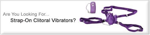 Strap-On Clit Vibrators