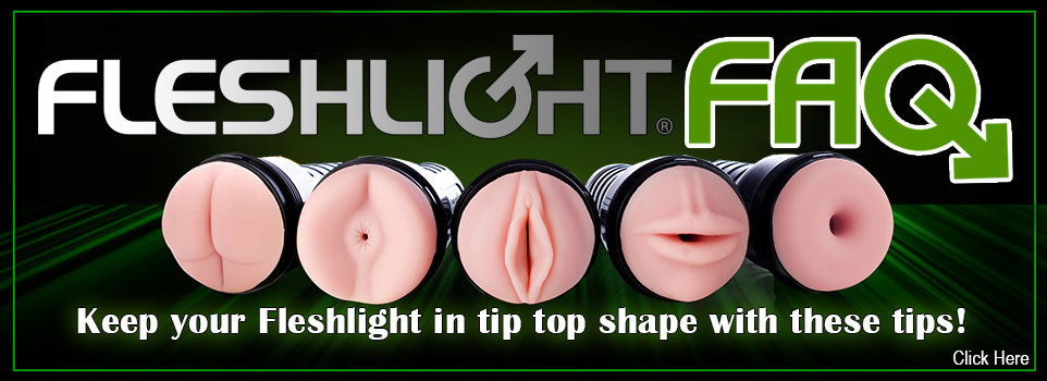 Fleshlight FAQ Banner