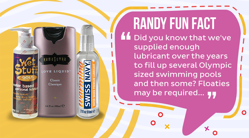 Lubricants and Essentials - Randy Fun Fact!